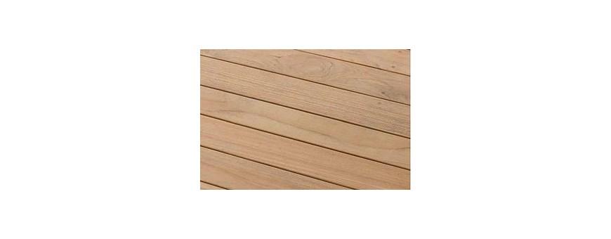 Tarimas de exterior en madera y tarimas tecnológicas